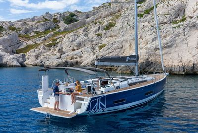 Dufour 530 - World premiere afloat in Cannes